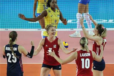 seleção brasileira vôlei feminino