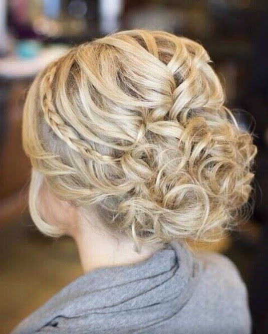 Prom Hairstyles For Long Hair Wedding Party With Bangs Female Black