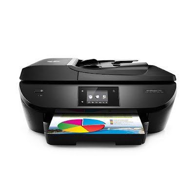 Main functions of this HP color inkjet photograph printer HP Officejet 5745 Driver Downloads