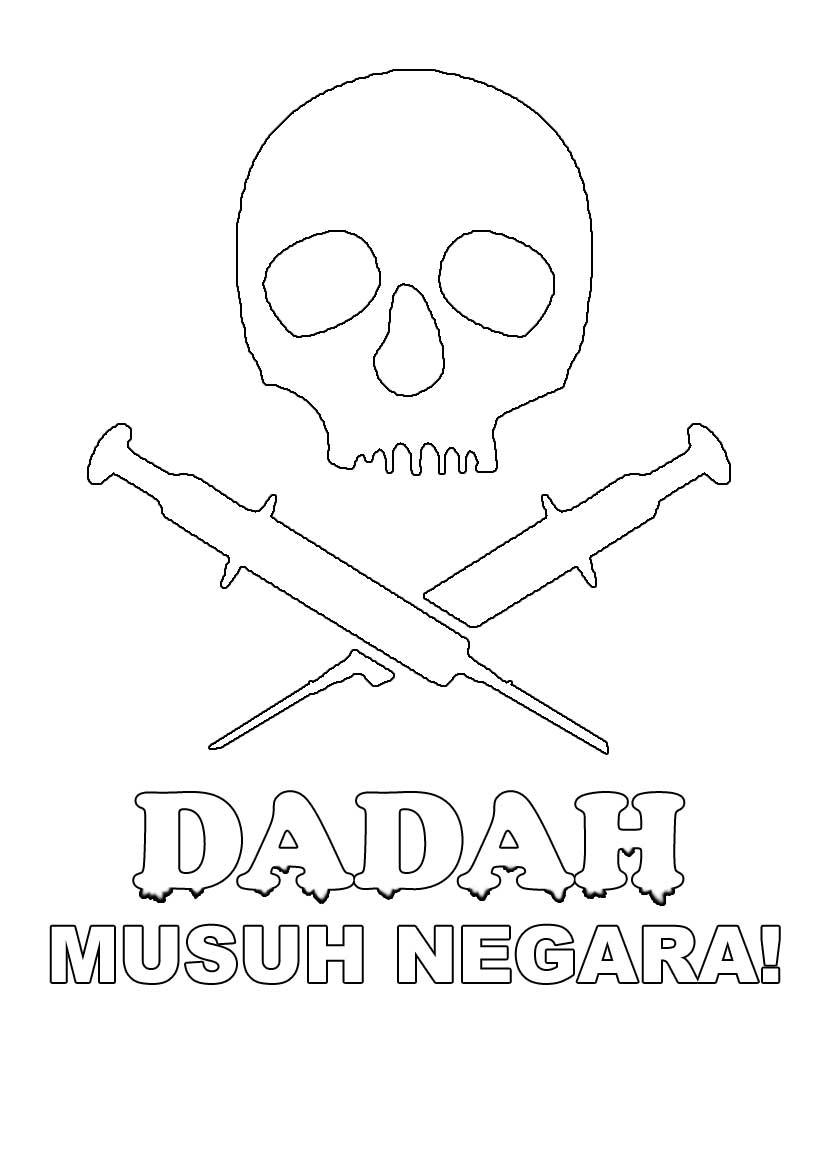 poster dadah musuh negara