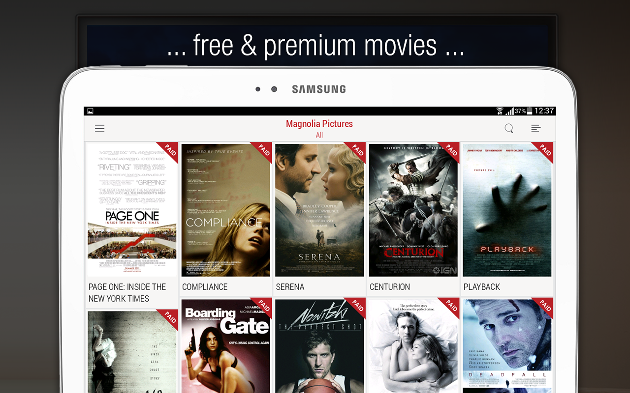 chromecast apps free movies