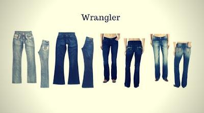 Calças Jeans Femininas da Wrangler