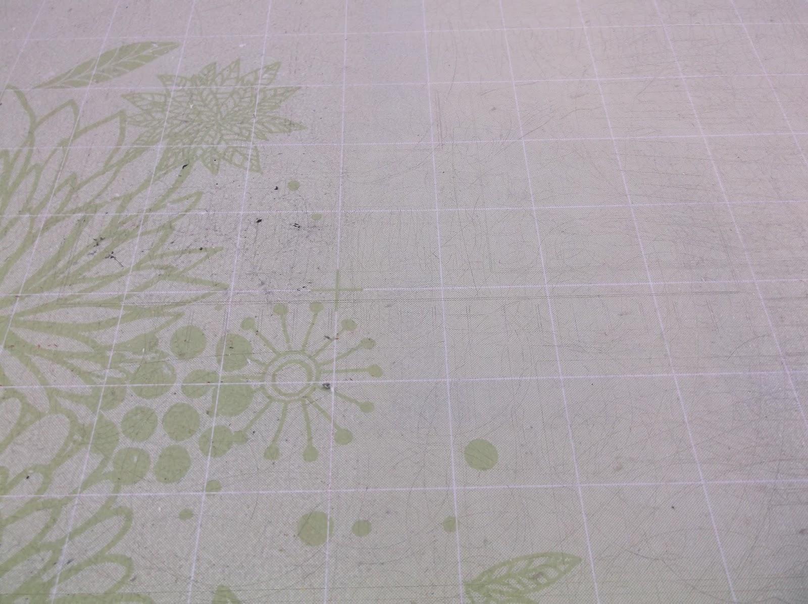 how to clean my cricut mat