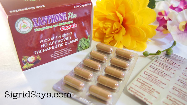 health benefits of xanthone - Xanthone Plus mangosteen supplement