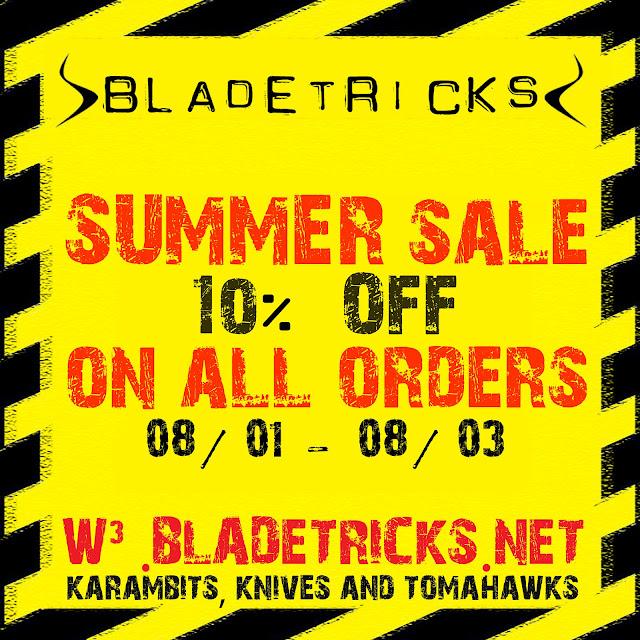 Custom knives summer sale