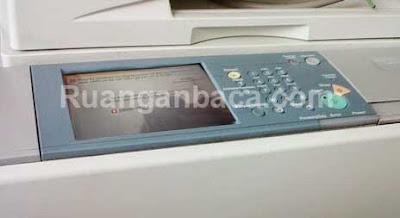 Memperbaiki E061-0001 Mesin Fotocopy Canon IR