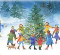 новогодние детские стихи и частушки