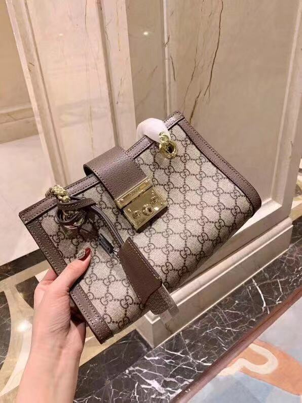 35bb65e0e WE Do Love Luxury: GUCCI Padlock GG Small Shoulder Bag Style ...