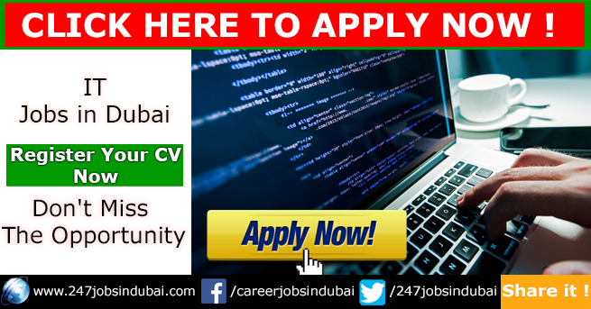 Latest IT Jobs Vacancies in Dubai