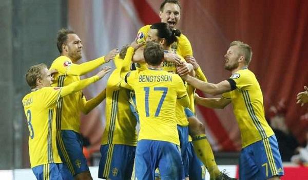 Prediksi Swedia vs Luksembourg Kualifikasi PD 2018