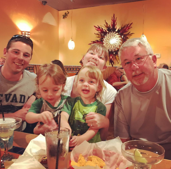 Mexican food family dinner