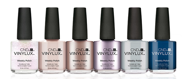 The Glacial Illusion Collection From CND Vinylux is a range of Mystically Radiant Shades