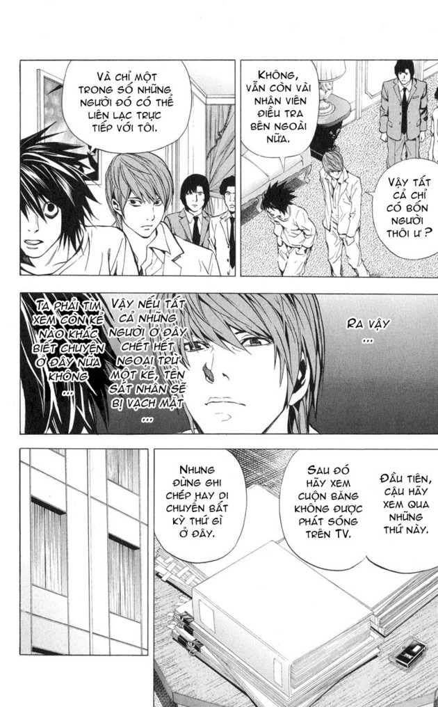 Death Note chapter 026 trang 12