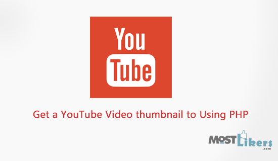 How to get a YouTube Video thumbnail to Using PHP