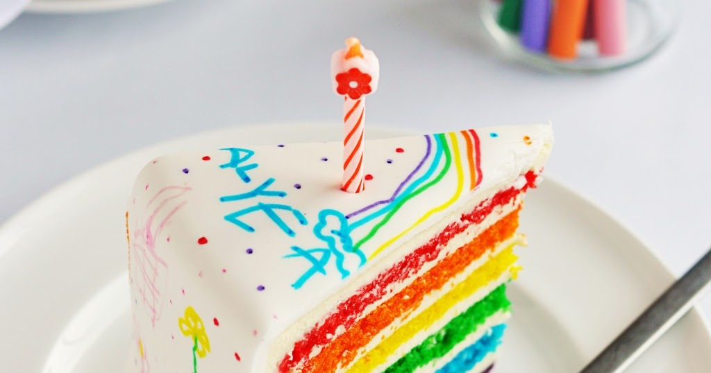 Resep Rainbow Cake Jtt: Making A Beautiful Rainbow Cake