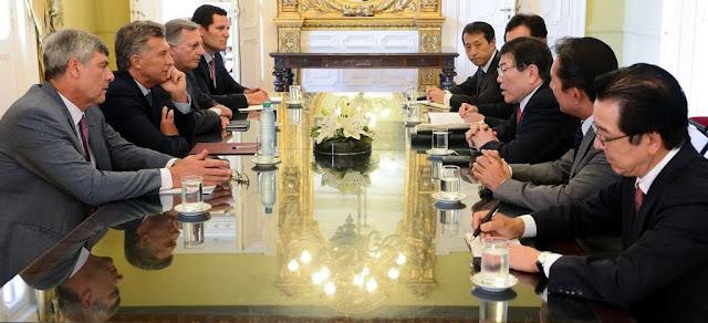 El presidente Macri recibió al titular de la empresa japonesa Mitsui