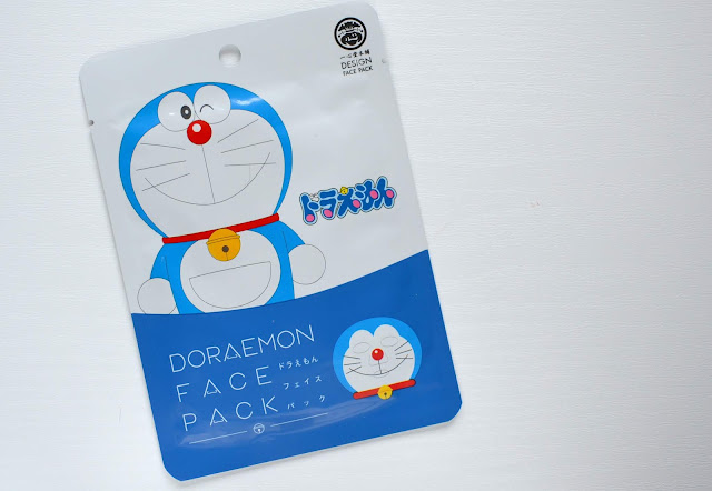 Design Face Pack Doraemon Sheet Mask