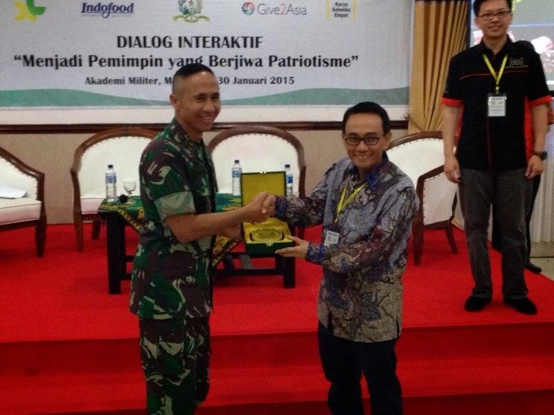 XL-Indofood : Asah Kepemimpinan Mahasiswa di Akademi Militer