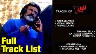 Kaala Album Preview | Kaala Full Track List | Rajinikanth | Pa Ranjith | Santhosh Narayanan