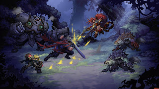 Battle Chasers Nightwar Computer Wallpaper