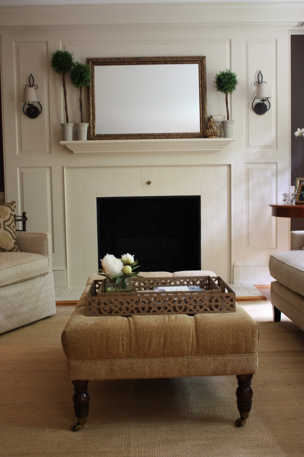 The nest egg the cobbler 39 s living room before after for Room decor next