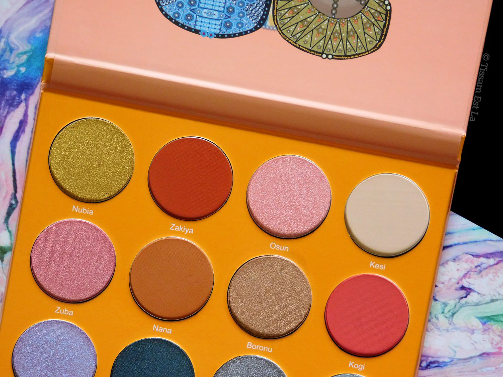 Juvia's Place - The Magic Eyeshadow Palette 2017 - Review & Swatches - Avis et Revue