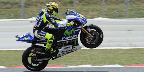 Rossi Tekad Lebih Keras Lawan Marquez-Lorenzo