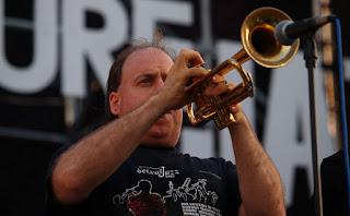 Greg Gisbert se presenta en el Auditorio Reforma en Puebla - México / stereojazz