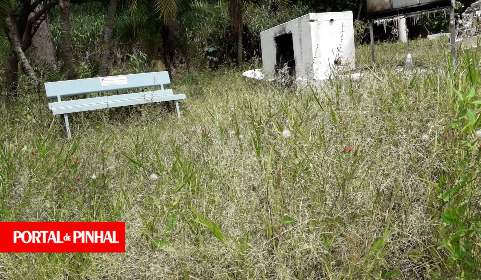 Moradores denunciam abandono da gruta localizada na vicinal entre Pinhal e Jacutinga