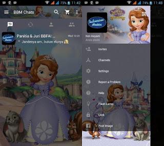 BBM Mod Sofia The First v2.11.0.18 Apk