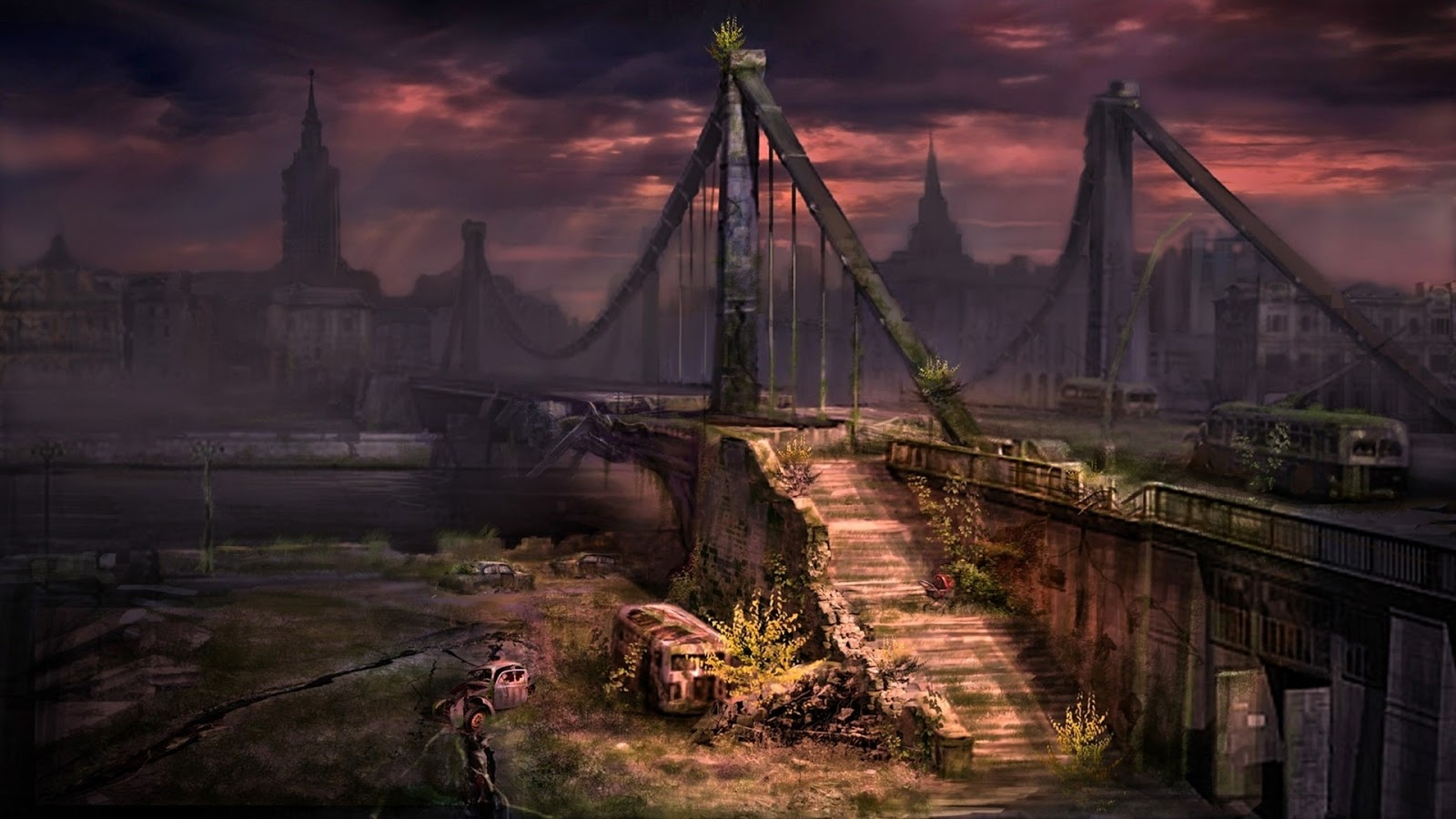 WallSheets: Apocalyptic Dark Scene