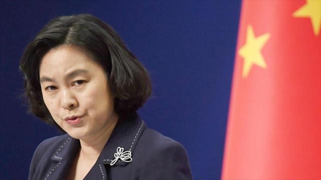 China arremete contra EEUU por sus nuevas sanciones antiraníes
