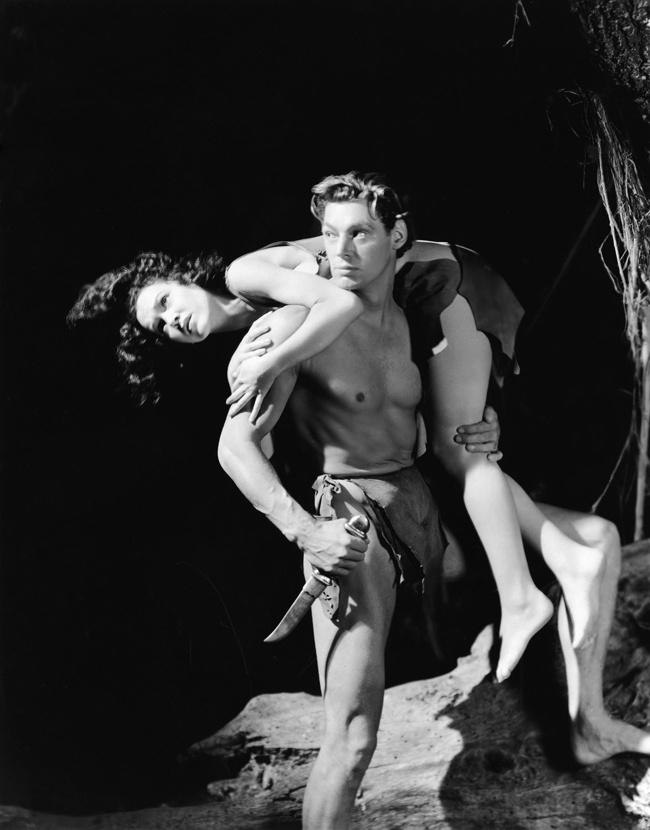 Apeman and jane