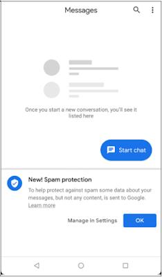 حماية الرسائل غير المرغوب فيها