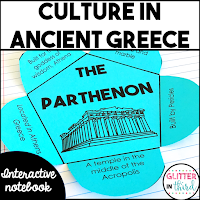 Culture in ancient greece interactive notebook activity