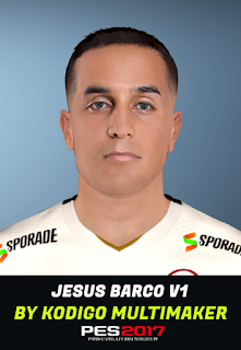 PES 2017 Faces Jesús Barco by Kodigo