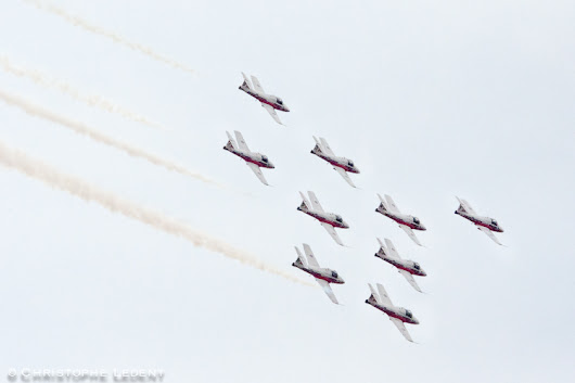 359 - Snowbirds, Skydivers and Canada Day Celebrations as seen on Parliament Hill (Well Kinda)