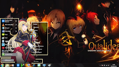 Theme Anime Windows 7 Canaria Utara Qualidea Code 1