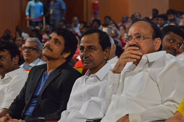 ANR AWard 2017  to SS Rajamouli Event Photos ,Celebrities at Anr award event,CM KCR at ANR AWards function,Nagajuna Akkineni at ANR AWard ,Akhil at ANR AWard ,Nagachaitanya at ANR AWard ,Telugucinema at ANR AWard ,Venkaiah naidu at ANR AWards event,ANR AWard event photos,ANR National Award 2017,S.S. Rajamouli to get ANR award for 2017,Honour to receive ANR award S.S Rajamouli