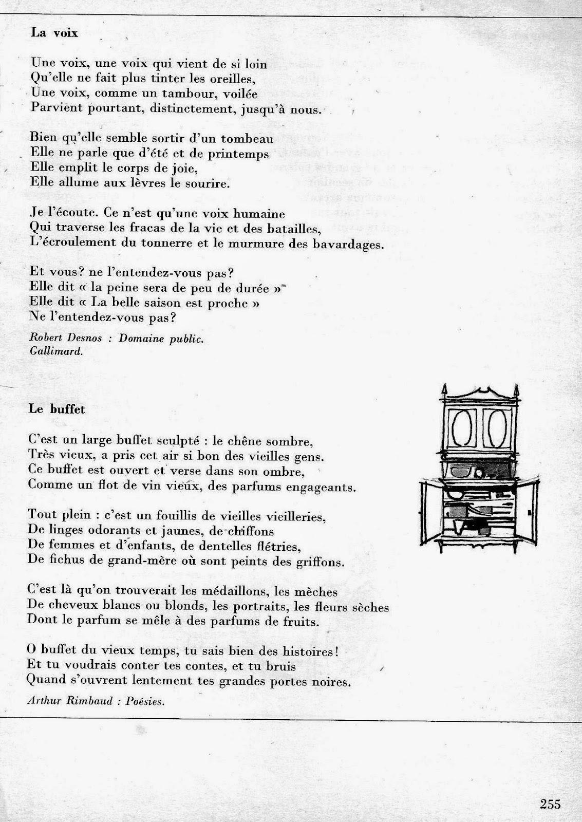 Manuels Anciens Gérard Lecture Cm2 Poésies Pages 255 à 268