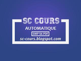 cours automatique smp s6 pdf