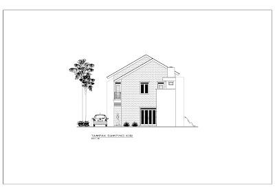 Desain Rumah Minimalis 2 lantai 9