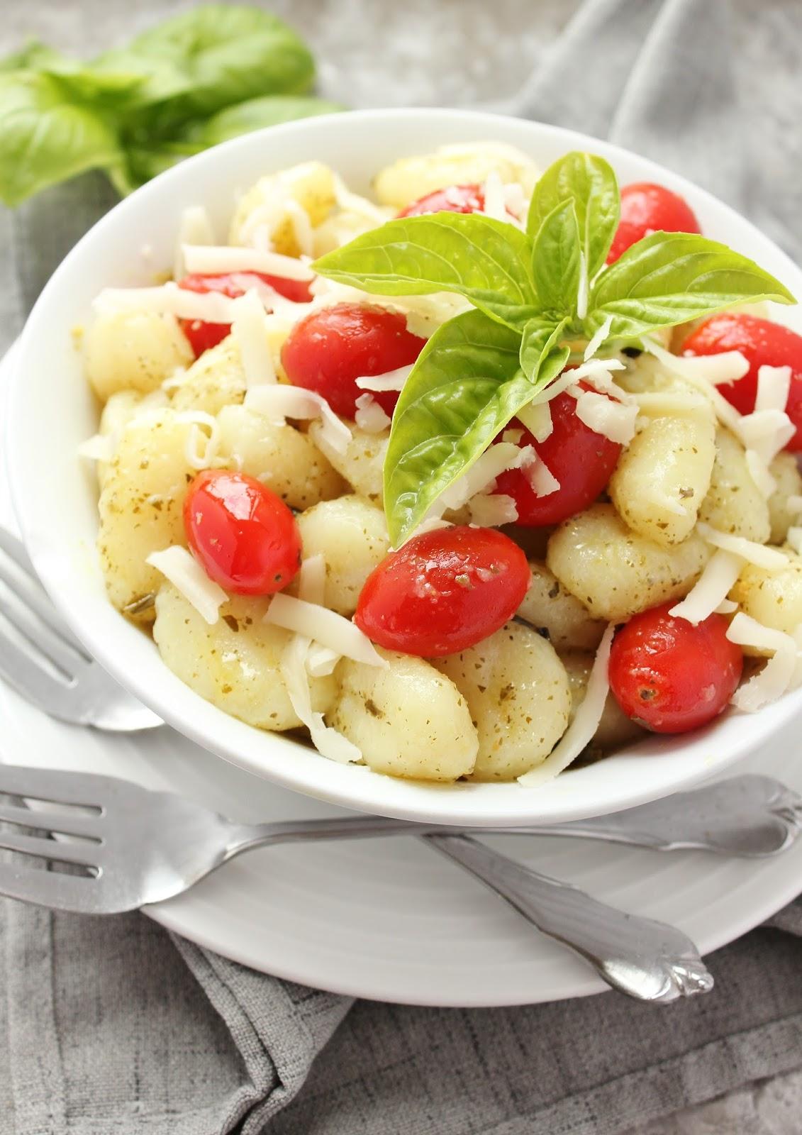 Easy Pesto Gnocchi