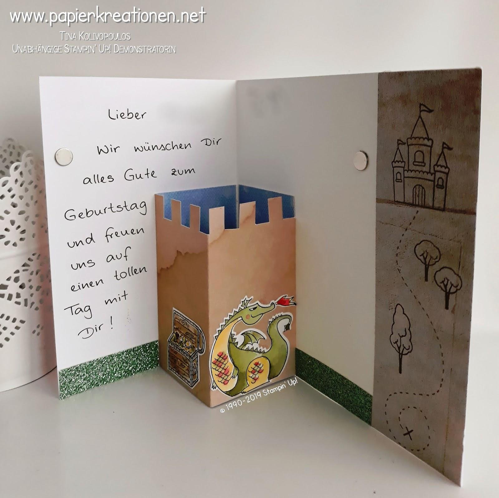 Papierkreationen Net Gluckwunsche Zum Kindergeburtstag Mit
