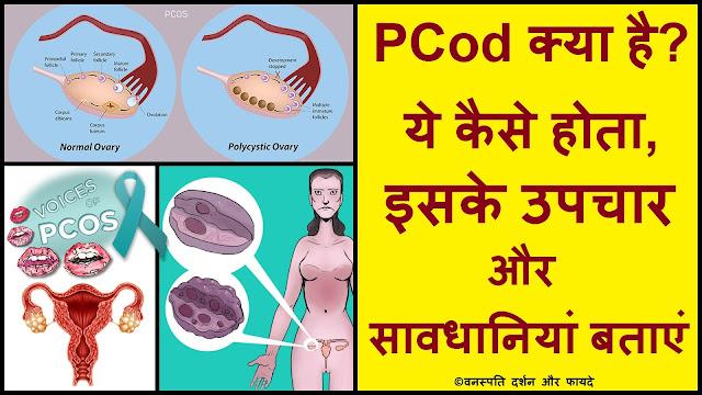 PCod क्या है ये कैसे होता है इसके उपचार और सावधानियां बताएं