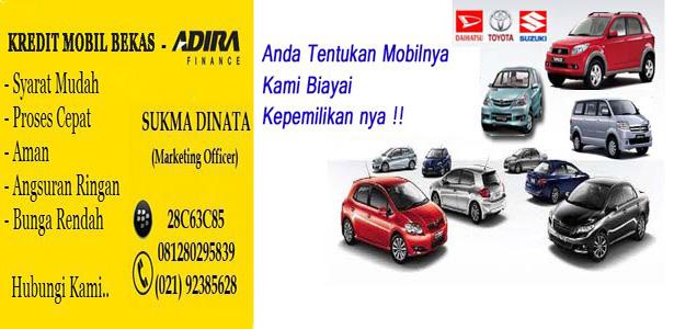 Kredit Mobil Bekas - Adira Finance