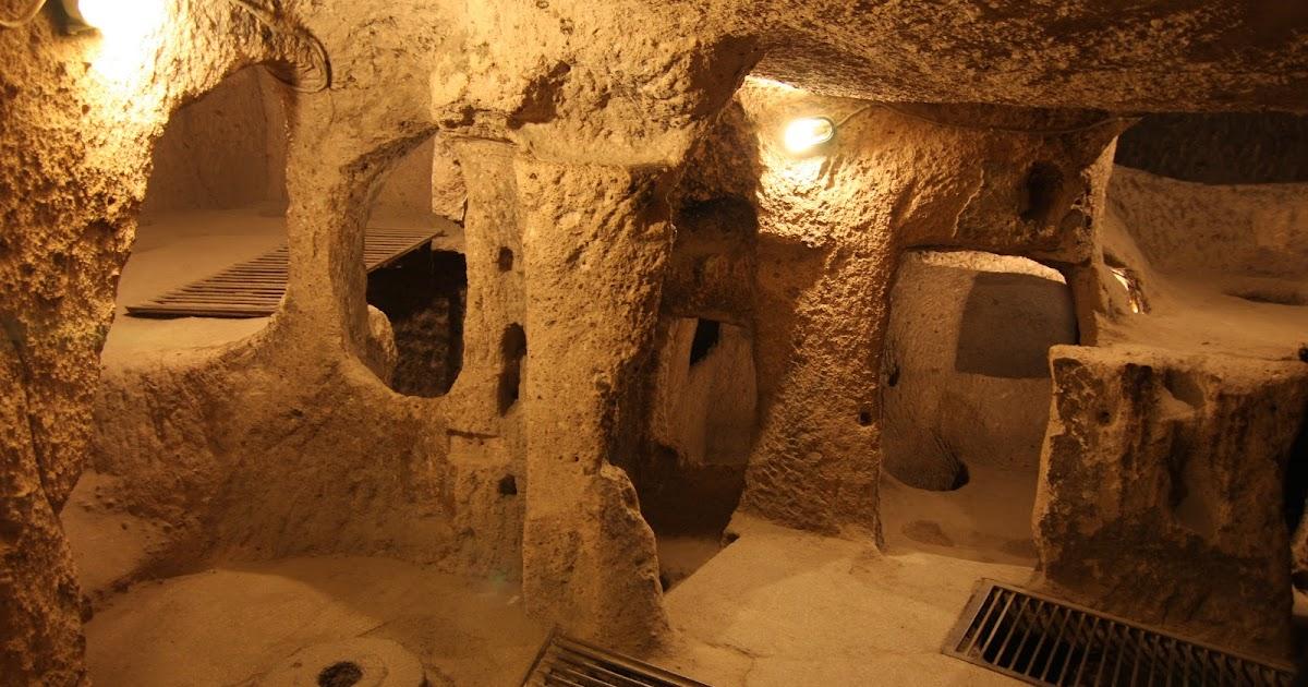 Hasil gambar untuk kaymakli underground city