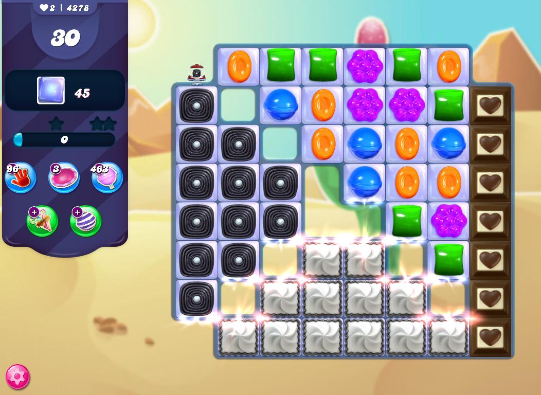 Candy Crush Saga level 4278