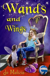 Wands and Wings - a Children's Fantasy by Jo Malizia