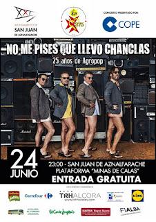 Feria de San Juan de Aznalfarache 2017 - Actuaciones día 24 de Junio